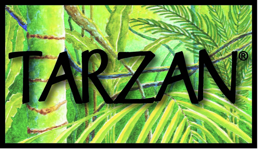 Tarzan logo med res